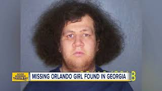 Missing 11-year-old Orlando girl found in Georgia with a 24-year-old man from Illinois
