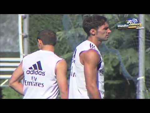Javier Hernández entrenó con la filial del Real Madrid