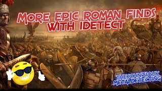 Metal Detecting with TheJohn316UK #246...More Epic Roman Finds 😳