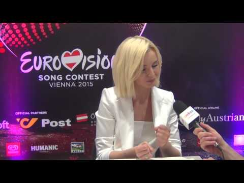 ESCKAZ in Vienna: Interview with Polina Gagarina (Russia)