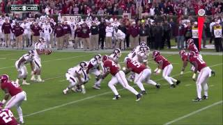 #5 Alabama vs #1 Mississippi St 2014 HD
