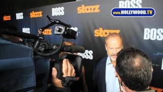 Kelsey Grammer and new wife Kayte Walsh on the red carpet