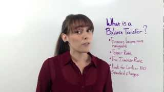 What Is A Balance Transfer?