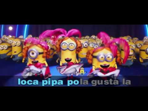"Sing ""Papa Mama Loca Pipa�. The Impossible Karaoke Challenge is on now! #DespicableMeChallenge"