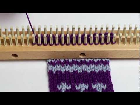 Changing Colors in Double Knitting