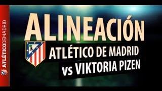 UEFA Europa League 2012/13. Once del Atlético de Madrid para visitar al Viktoria Pilsen