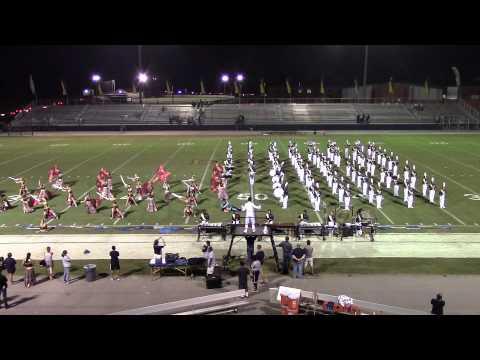Buckhorn High School Band vs James Clemmons 9-19-2014