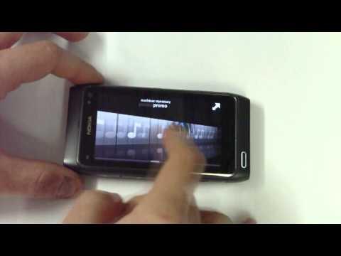 Nokia N8 - Käyttöliittymä