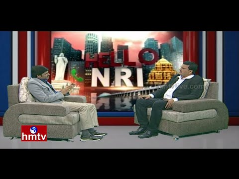 Hello NRI | Leading NRI Chillakuru Gopireddy | Politics and Youth Development in America | HMTV