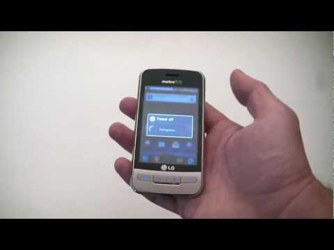LG Optimus M MS690 Android Smartphone MetroPcs Review