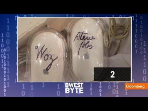 Kim Kardashian's Gift to Kanye West: Steve Jobs-Signed Mice