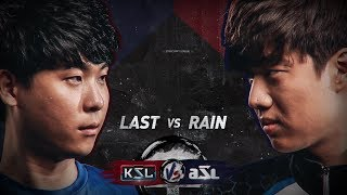 KSL vs ASL - Last vs Rain - StarCraft Remastered Exhibition - BlizzCon 2018