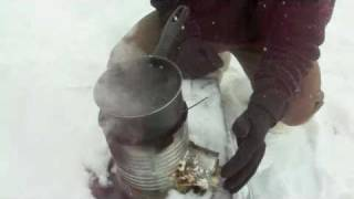 How to: Make a High Output portable Wood Stove