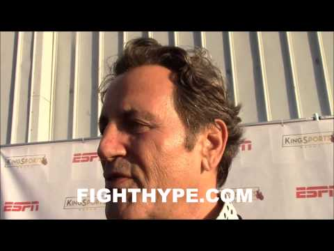 STALLONE PRAISES PACQUIAO AND MAYWEATHER ONES A MANS MAN AND THE OTHER WILL FIGHT GOING DOWN