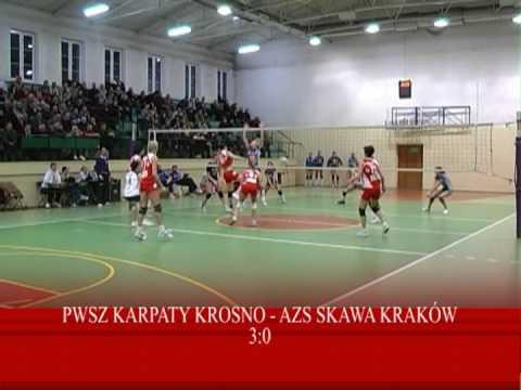 Siatkówka: PWSZ Karpaty Krosno - AZS Skawa Kraków