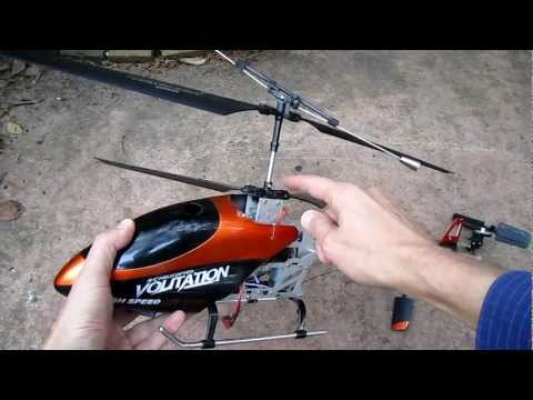 9053 Volitation (and DH 9101) RC helicopter modifications part 2