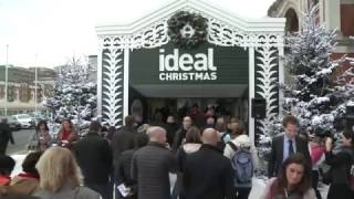 Ideal Home Show at Christmas, Olympia London 2016