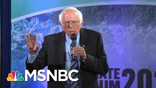 "Bernie Sanders: ""We've Got To Stand Up To Fossil Fuel Industry... To Save The Planet."" 