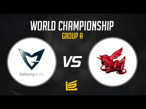 League of Legends World Championship 2014: Group A - Samsung White vs AHQ E-Sports Club  Highlights