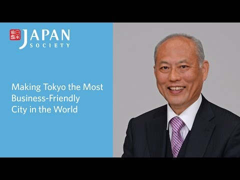 Making Tokyo the Most Business-Friendly City in the World