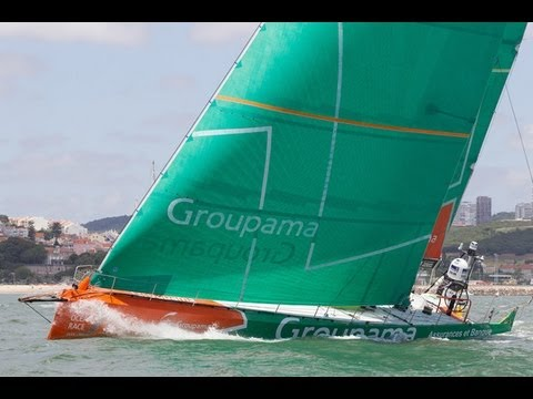 Groupama remporte l'In-Port Race de Lisbonne