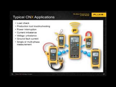 Fluke CNX™ 3000: Wireless Troubleshooting Tools In Use