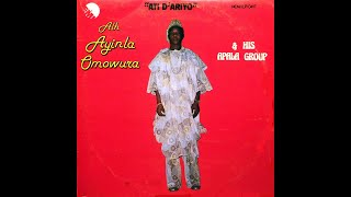 Alhaji Ayinla Omowura & his Apala Group - Side 1