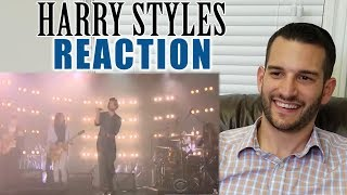 SINGING TEACHER reaction to HARRY STYLES