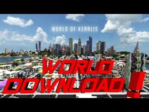 Minecraft PE Keralis World of Keralis !! [DOWNLOAD]