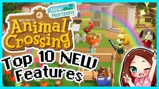 Animal Crossing New Horizons 10 New Features - MissFushi