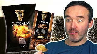 Irish People Try Guinness Snacks