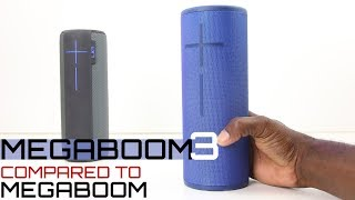 UE MEGABOOM 3 Review & Compared To MEGABOOM :Sound Battle