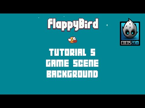 Cocos2d-x Flappy Bird C++ Tutorial 5 - Game Scene Background