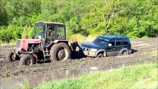 05.05.2015 Самарские Дебри , день пятый:) Tractor and Toyota Prado