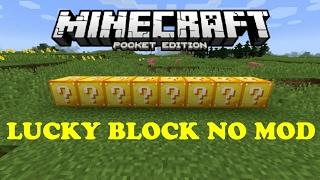[KHÔNG CÒN SỬ DỤNG ĐƯỢC] [MAP & RESOURCE PACK] Chơi Lucky Block mà không cần Mod? Làm thế nào?