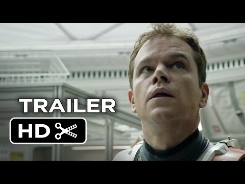 The Martian TRAILER 1 (2015) - Matt Damon, Jessica Chastain Movie HD