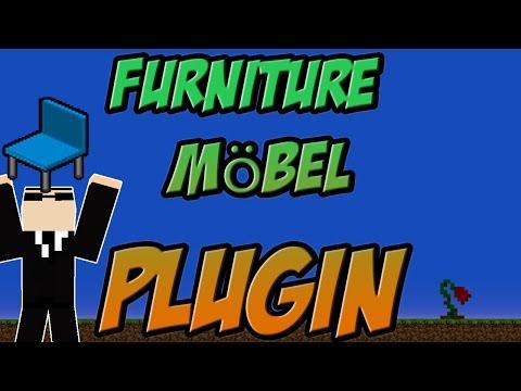 Furniture   Möbel Bukkit Plugin Minecraft 1.8  1.8.3 Spigot   German    Tutorial  