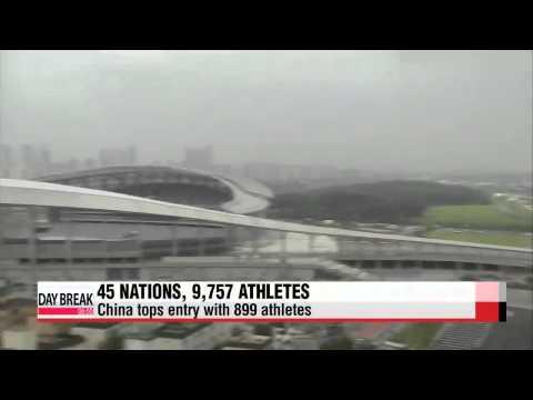 Incheon Asian Games entry finalized   인천 아시안게임 엔트리 마감