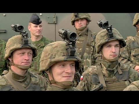 NATO forces carry out drill in Poland