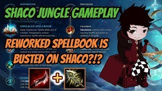 Unleashed Spellbook on Shaco [League of Legends] Full Gameplay - Infernal Shaco