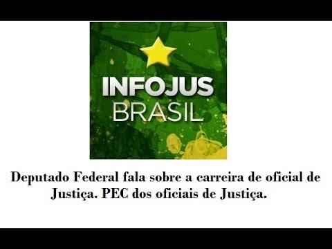 Deputado Federal Ademir Camilo (PROS-MG) fala sobre carreira do oficial de Justiça