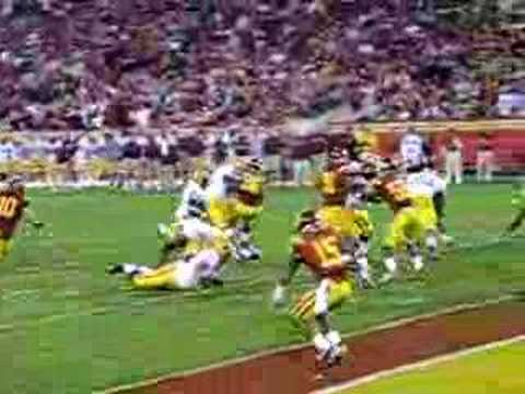 ASU's Ryan Torain scores a touchdown against USC.