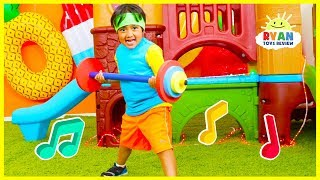 Body Parts Exercise Songs for Children