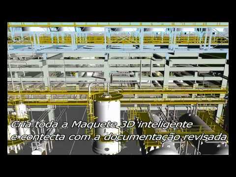 Laser Scanning Brazil Offshore 2011 - Hojuara As Built 3D