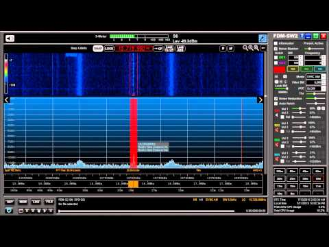 Radio New Zealand 15.720Mhz using SYNC AM mode