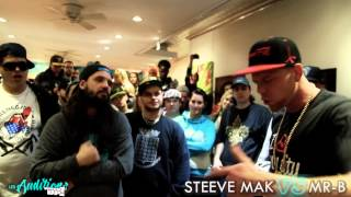 Les Auditions : Steeve Mak vs MR-B