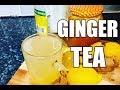Lemon - Ginger Tea WINTER TEA , DETOX WEIGHT LOSS -PERFECT TEA   | Chef Ricardo Cooking