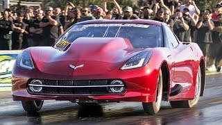 3500hp C7 Stingray Corvette - Twin 102mm Turbo HEMI!
