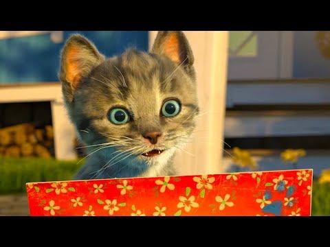 ПРИКЛЮЧЕНИЕ МАЛЕНЬКОГО КОТЕНКА мультик смешное видео для детей мультфильм про котиков #ПУРУМЧАТА КИД