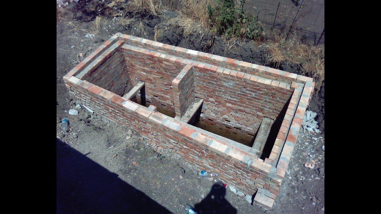 Строительство сливной ямы своими руками 30